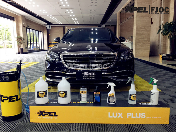 Mercedes-Benz MAYBACH 装贴XPEL-LUX PLUS隐形车衣透明膜