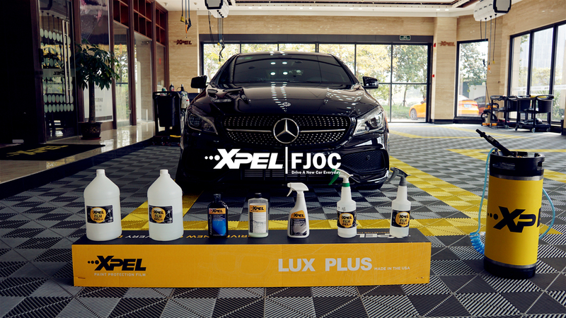 Mercedes-Benz CLA装贴XPEL-LUX PLUS隐形车衣透明膜